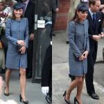 Kate Middleton in cappottino M Missoni