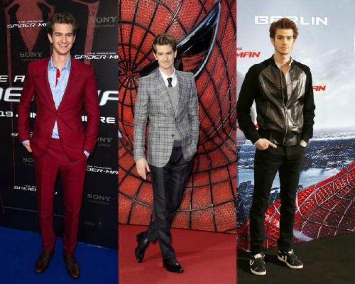 Andrew Garfield promozione The Amazing SpiderMan 01