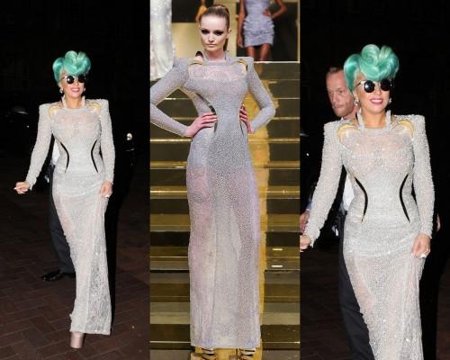 Lady Gaga Atelier Versace