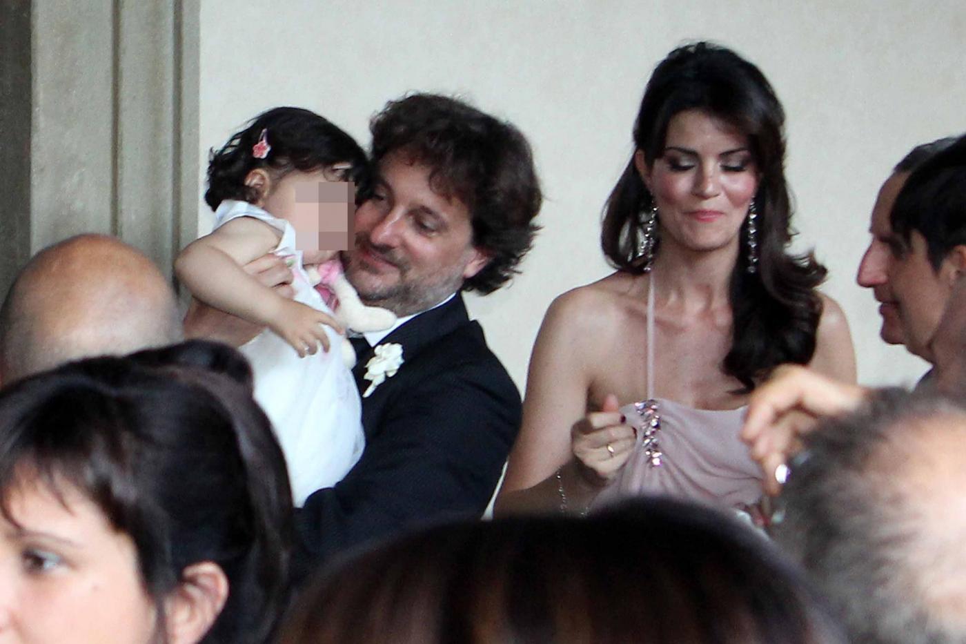 Laura Torrisi e Leonardo Pieraccioni con la loro bambina01