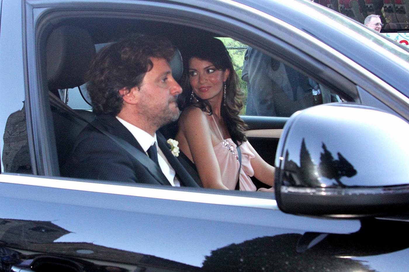 Laura Torrisi e Leonardo Pieraccioni con la loro bambina06