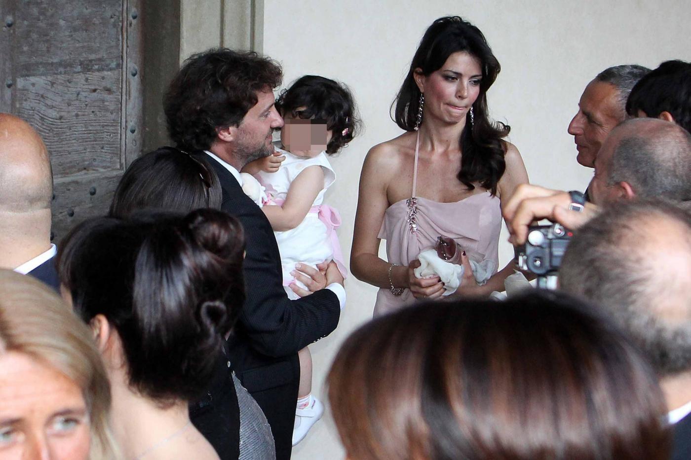 Laura Torrisi e Leonardo Pieraccioni con la loro bambina05