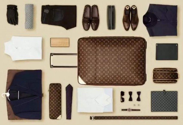The Art of Packing Louis Vuitton