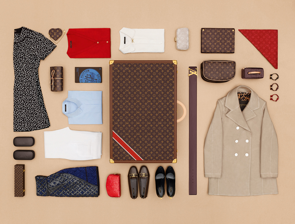 The art of Packing LOUIS VUITTON 2