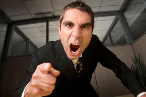 insultare il capo legale