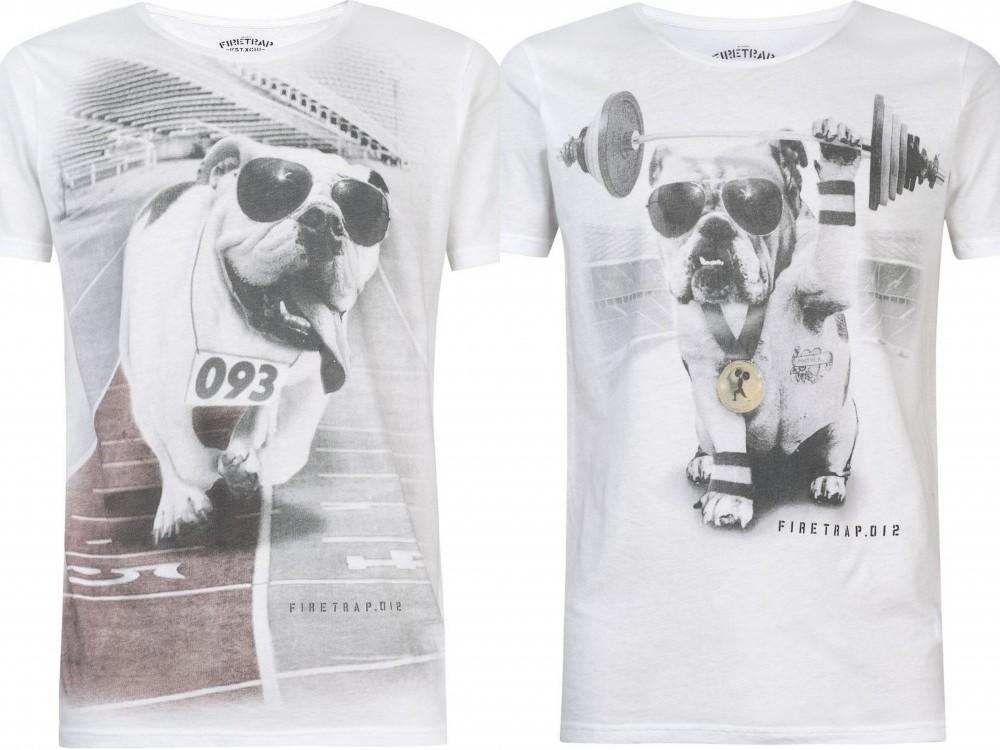 Firetrap t-shirt bulldog 02
