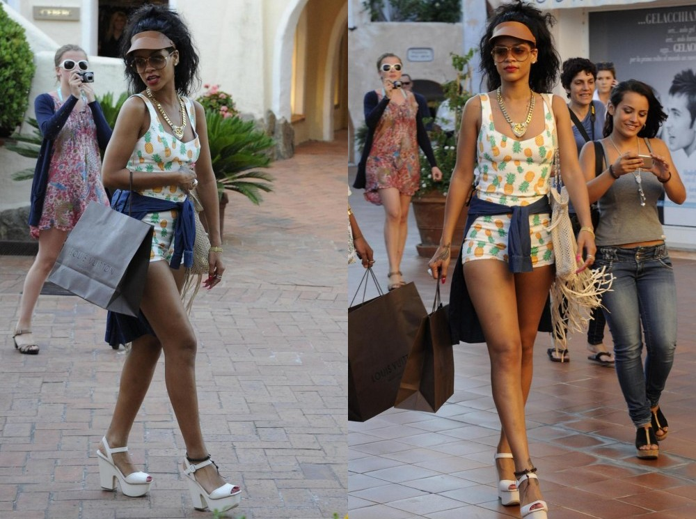 Rihanna a Porto Cervo