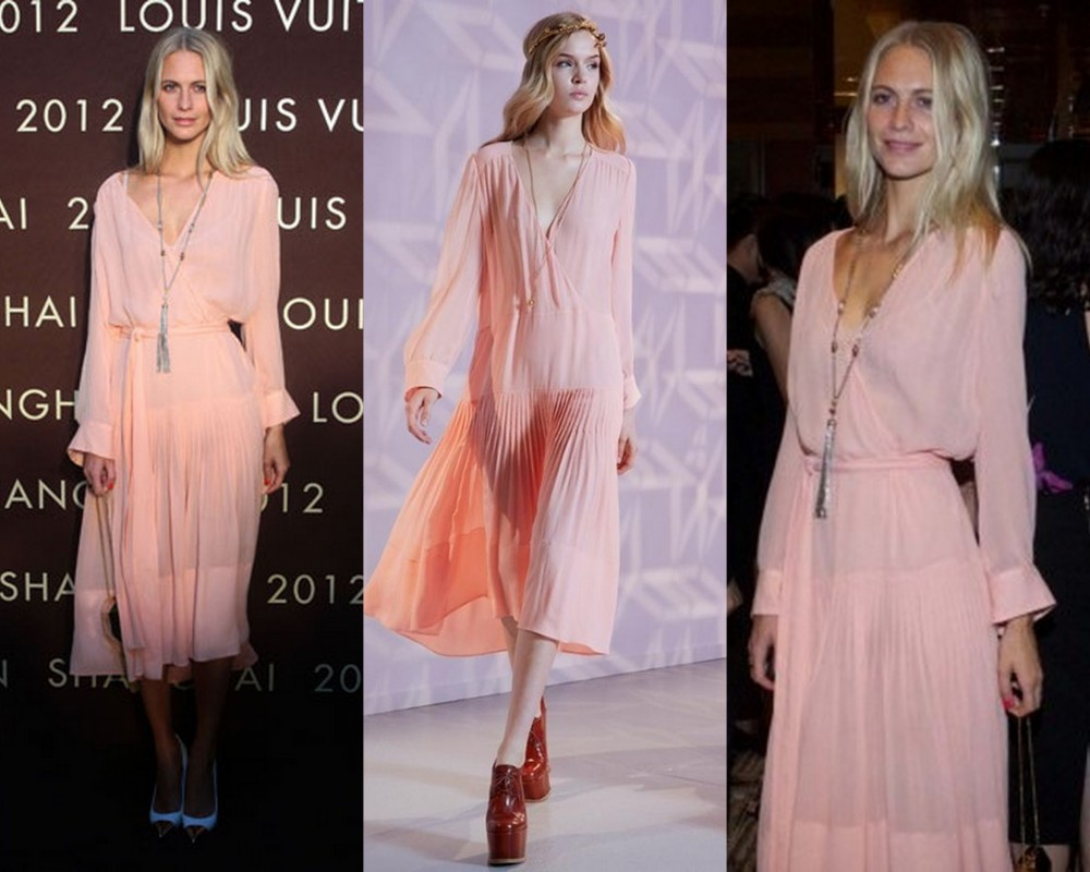 Poppy delevigne Louis Vuitton