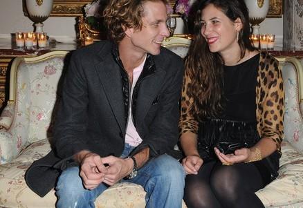 Andrea Casiraghi e Tatiana Santo Domingo