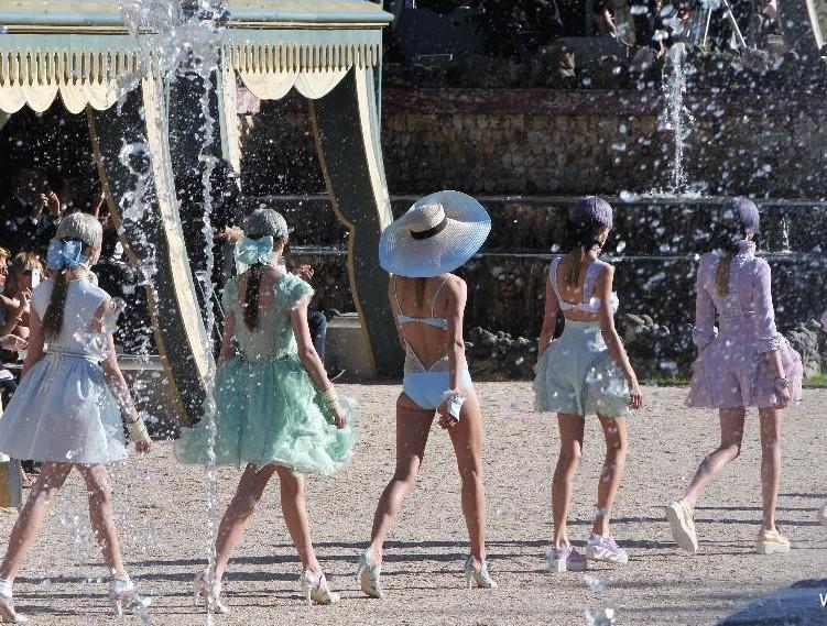 sfilata Chanel Versailles