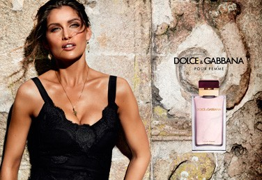 Laetitia Casta testimonial Dolce & Gabbana Fragrances