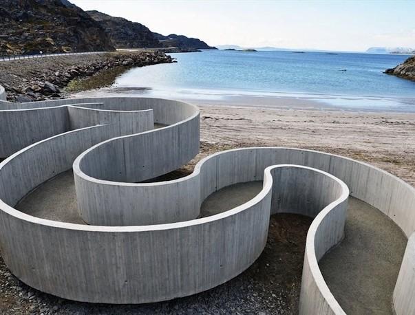 Discesa al mare, Norvegia