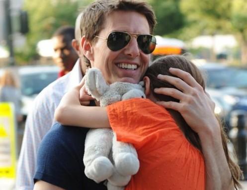 Tom Cruise con la figlia Suri01