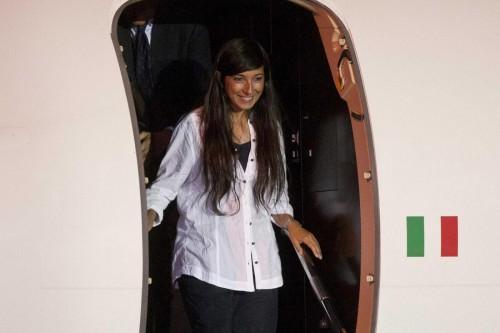 Rossella Urru arriva in Italia