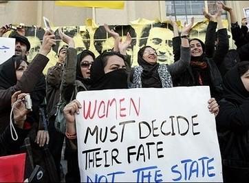 protesta donne arabe