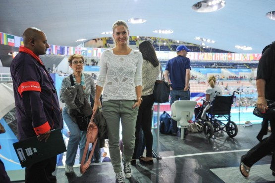 Olimpiadi 2012 - Bar Rafaeli alla sessione finale di nuoto01