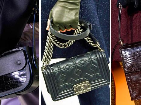 tracolle in sfilata Balenciaga, Chanel, Rochas