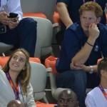 Olimpiadi 2012 -Il Principe Harry alla sessione finale di nuoto02