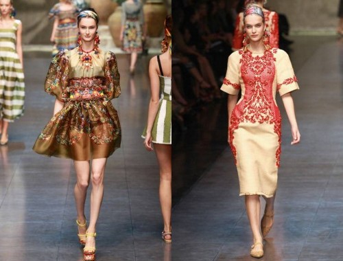 Dolce & Gabbana tendenze 2013 02