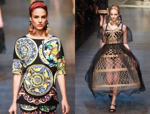 Dolce & Gabbana tendenze 2013 03