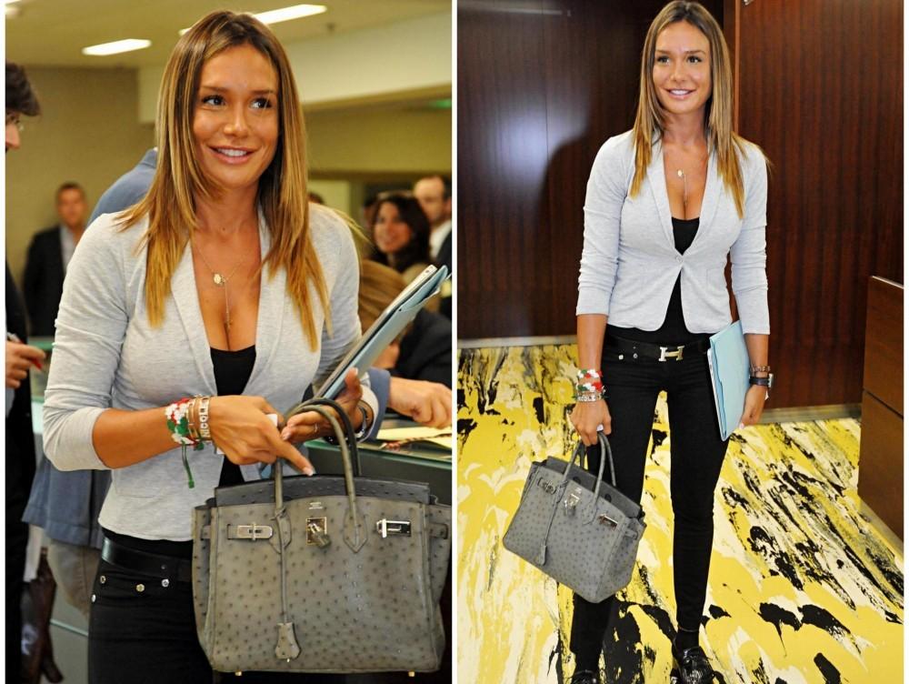 Nicole Minetti Pirellone borsa Hermes 02