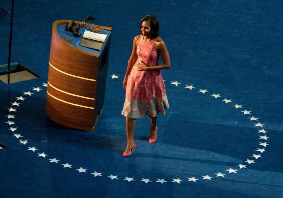 Michelle Obama protagonista della convention democratica06