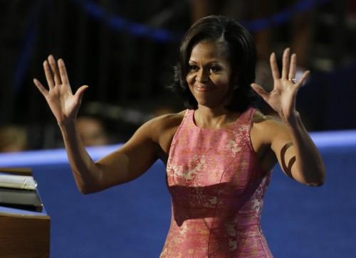 Michelle Obama protagonista della convention democratica05