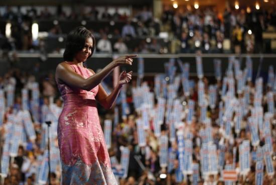 Michelle Obama protagonista della convention democratica04