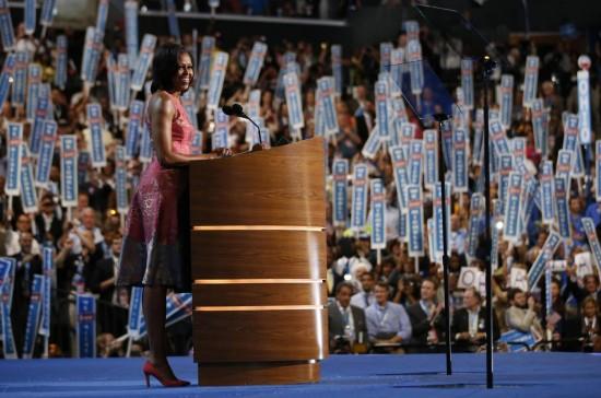 Michelle Obama protagonista della convention democratica03