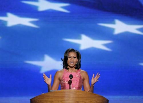 Michelle Obama protagonista della convention democratica02