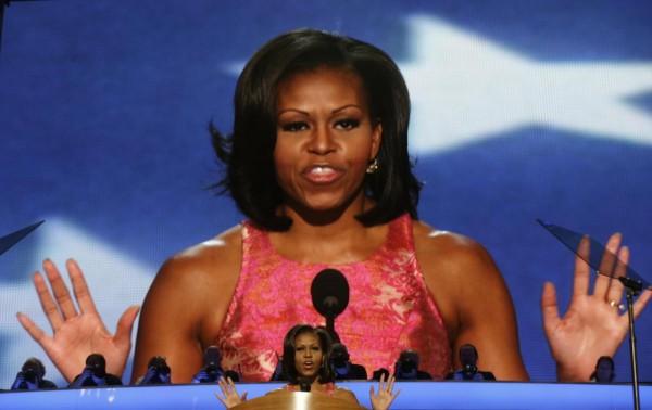 Michelle Obama protagonista della convention democratica01