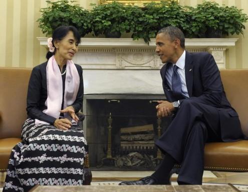 Obama incontra Aung San Suu Kyi alla Casa Bianca03