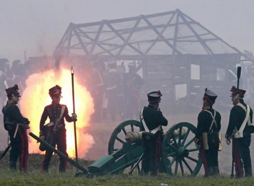 Russia, rievocazione storica della battaglia di Borodino09
