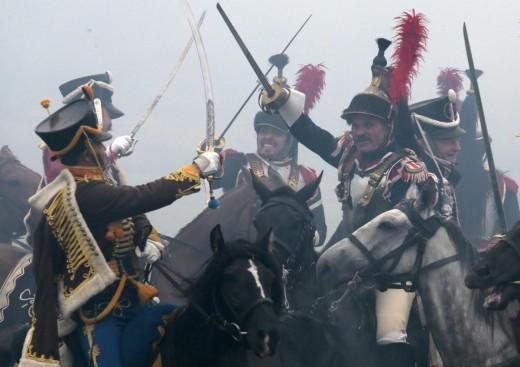 Russia, rievocazione storica della battaglia di Borodino06
