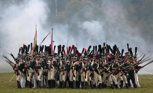 Russia, rievocazione storica della battaglia di Borodino05