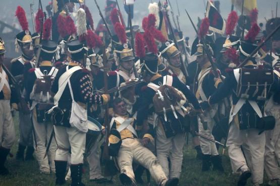 Russia, rievocazione storica della battaglia di Borodino03