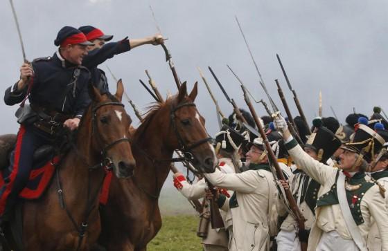 Russia, rievocazione storica della battaglia di Borodino01