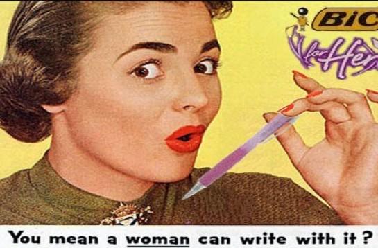 Penna Bic per donne 01
