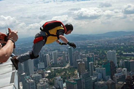 Annual KL Tower International BASE Jump 06