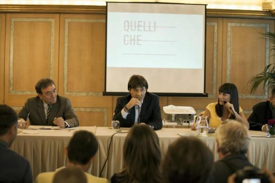 Conferenza stampa di presentazione 'Quelli che il calcio'06
