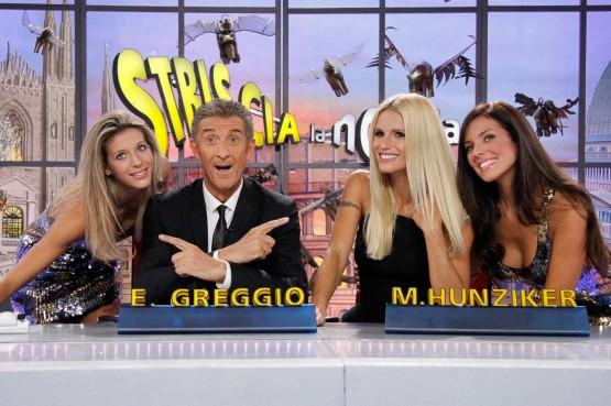 Prima puntata di 'Striscia la Notizia'06
