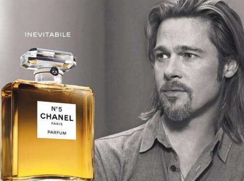 brad Pitt Chanel N°5