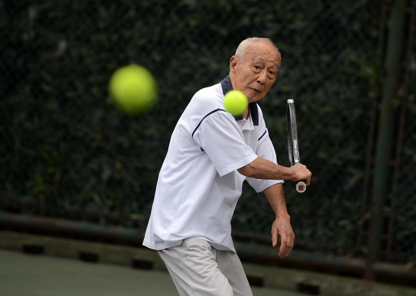 Huang Xingqiao, 99 anni,candidato a guinness world record 04