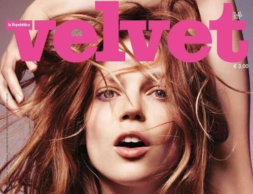copertina Velvet