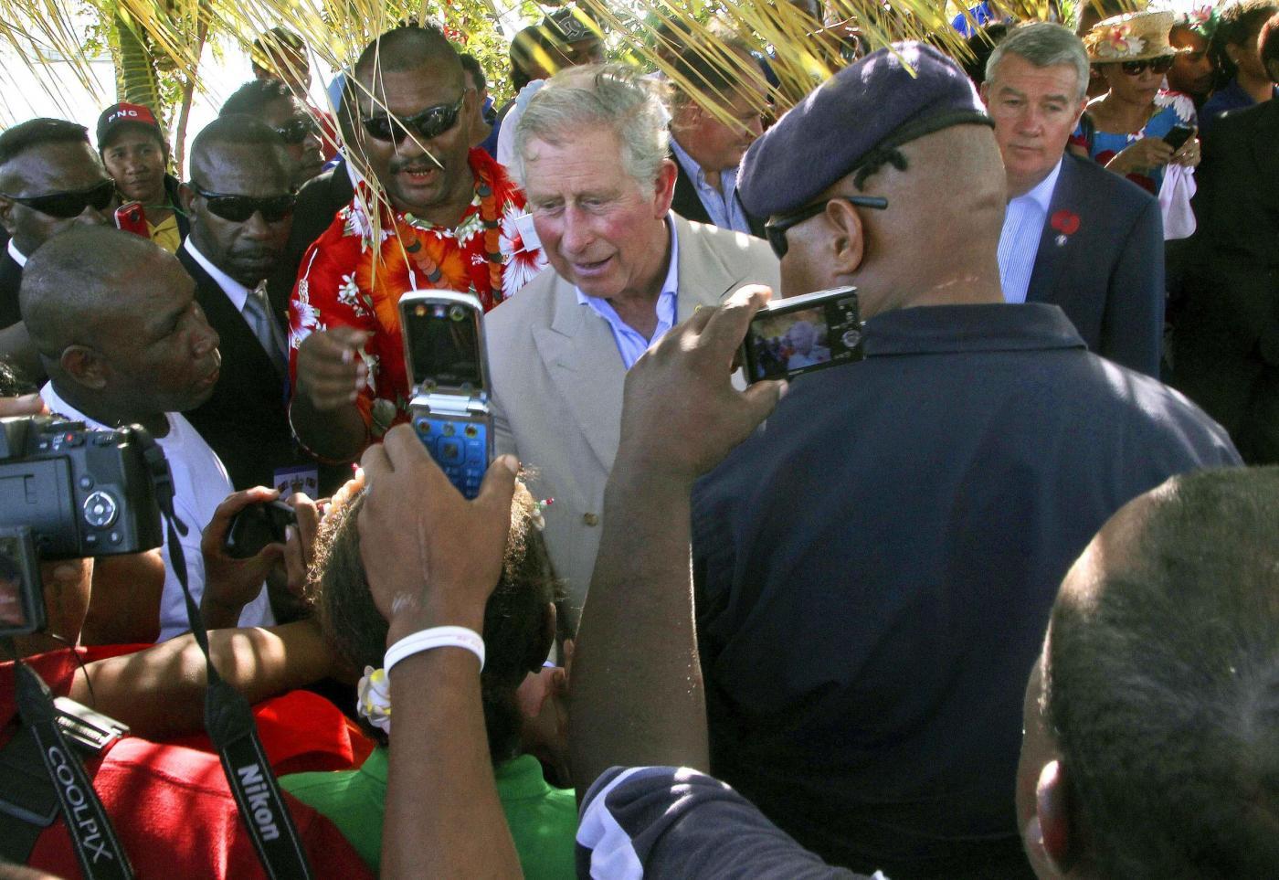 Il Principe Carlo e la consorte Camilla in Papua Nuova Guinea07