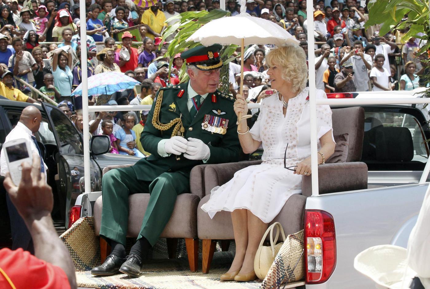 Il Principe Carlo e la consorte Camilla in Papua Nuova Guinea05