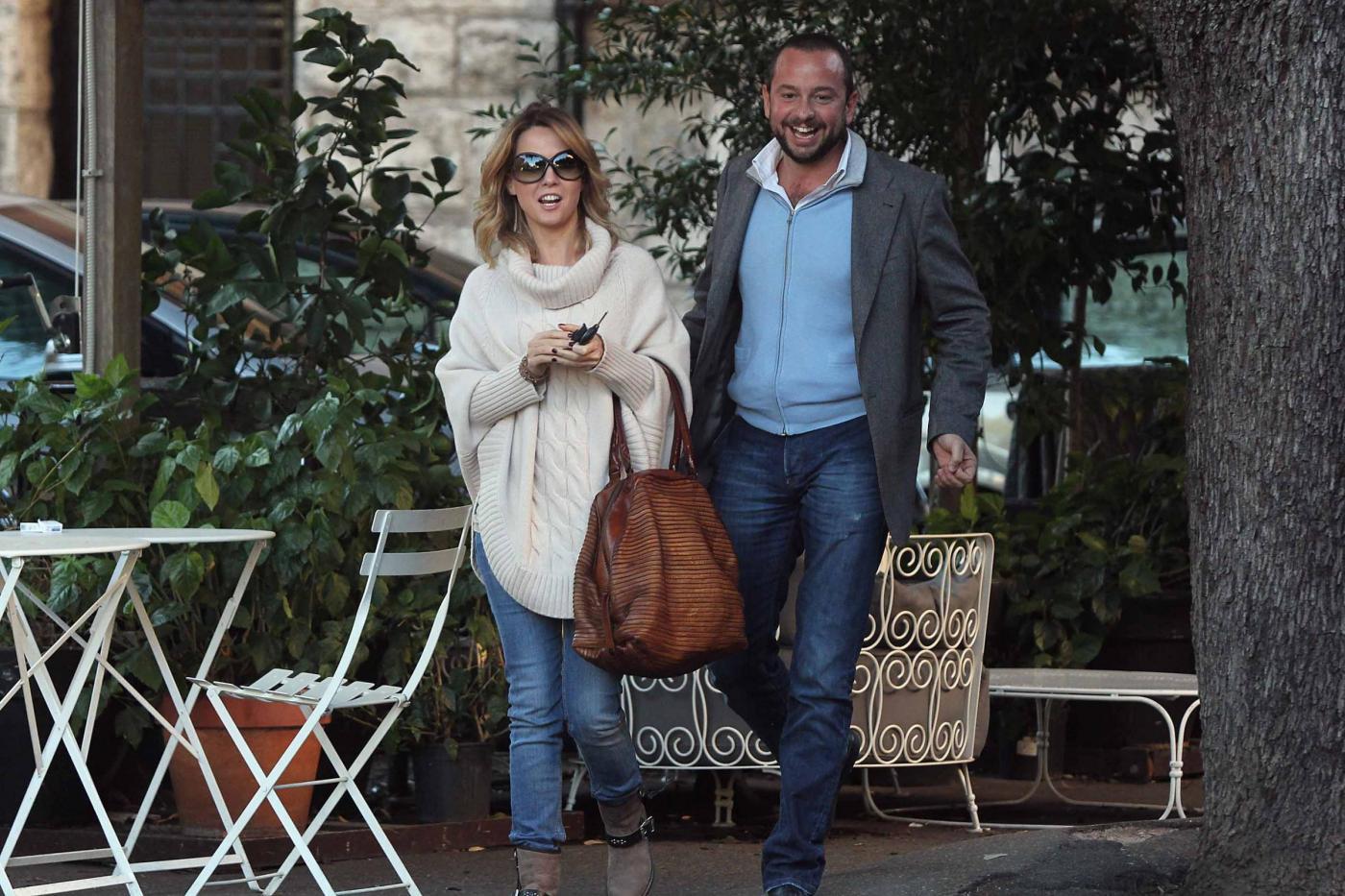 """Georgia Luzi a pranzo con Guido Carpineti, autore di """"Forum""""02"""