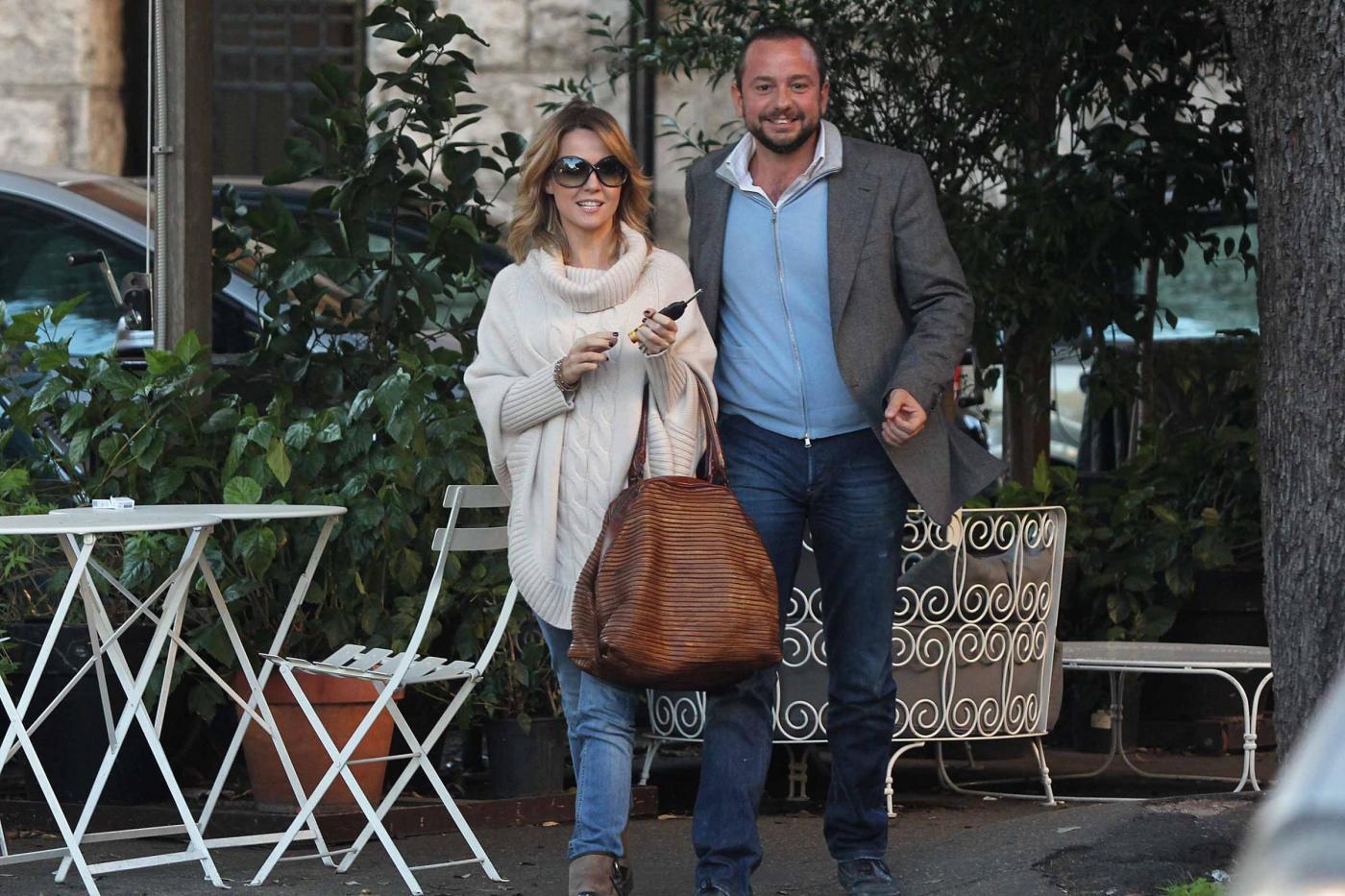 """Georgia Luzi a pranzo con Guido Carpineti, autore di """"Forum""""01"""