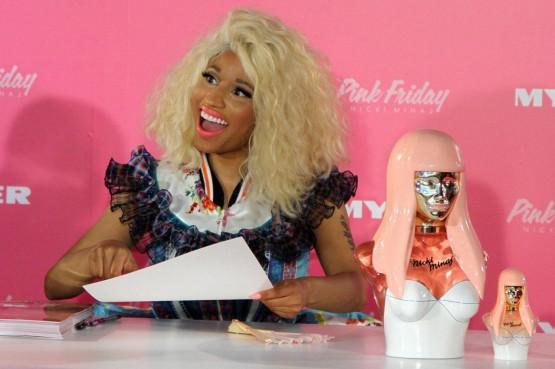 Nicki Minaj al lancio del suo nuovo profumo01