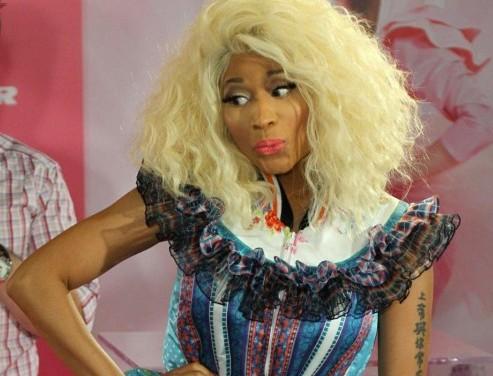 Nicki Minaj al lancio del suo nuovo profumo02